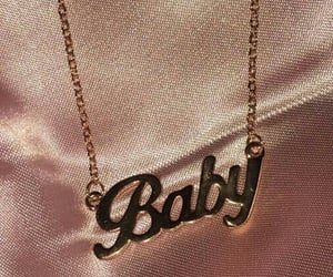baby, pink, and rose gold image