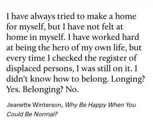 home and self image