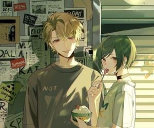 anime, couple, and couple anime image