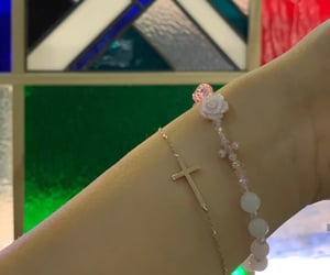 bracelet, Christ, and Christianity image