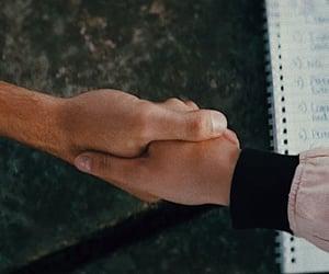 handshake, movie, and screencap image