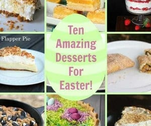 desserts, recipe, and easter image