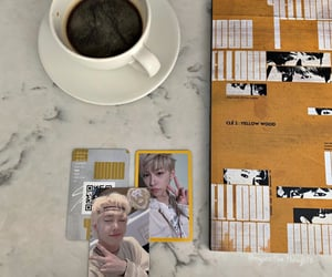Chan, kpop aesthetic, and coffee image