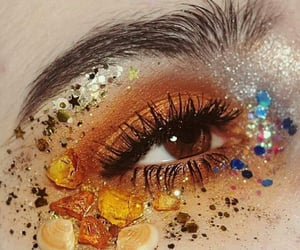 eyes, makeup, and aesthetic image