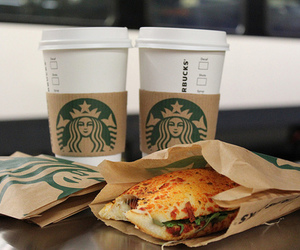 starbucks, food, and coffee image