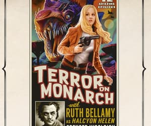 girl, movie, and terror image