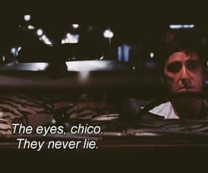 quotes, scarface, and eyes image