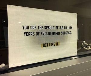 evolution, success, and hardwork image