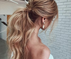 hair, ponytail, and hairstyle ideas image