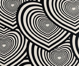 background, black, and heart image