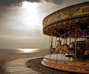 carousel, quotes, and life image