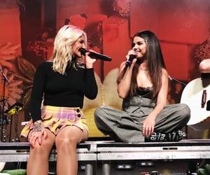 selena gomez, singer, and julia michaels image