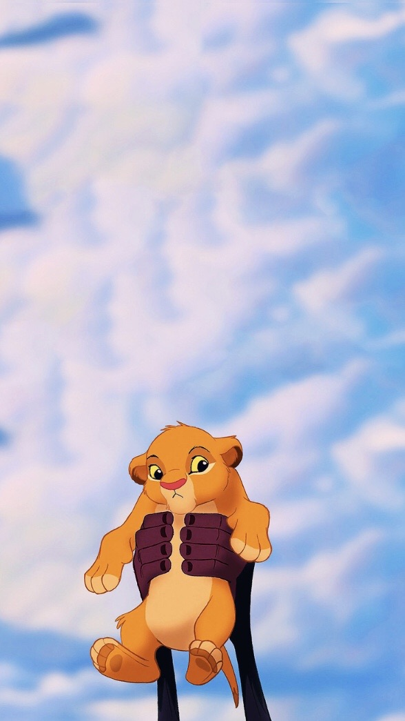 disney and simba image