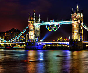 london, olympics, and photography image