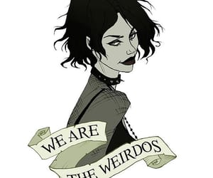 goth, Nancy, and comic-art image