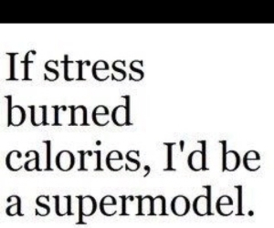 stress, supermodel, and quotes image