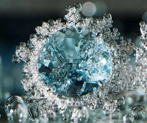 bling, blue, and closeup image