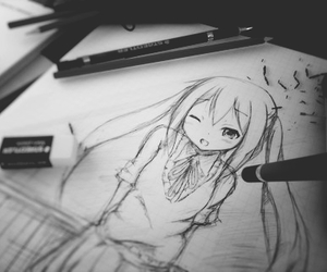 anime, draw, and art image