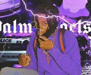 lightning, purple, and violet image