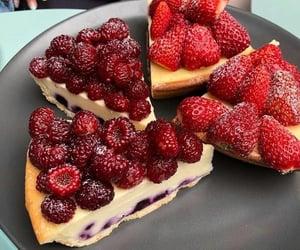 dessert, food, and berries image