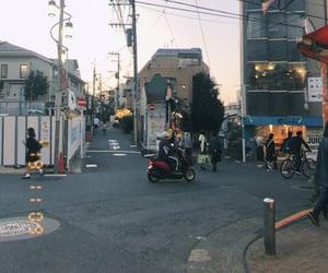 日本, 夕焼け, and 夕方 image