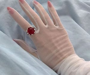 aesthetic, red, and ring image