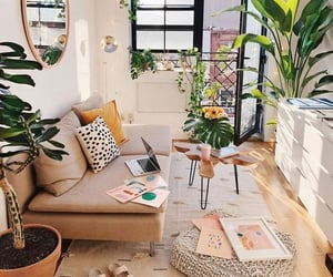 plants, home, and cozy image