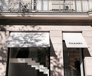 architecture, building, and chanel image