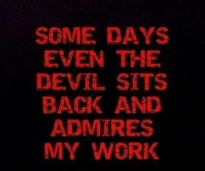 quotes, Devil, and evil image