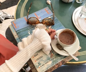 coffee, aesthetic, and sunglasses image