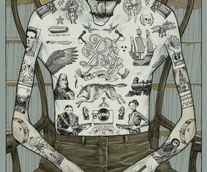 tattoo and illustration image