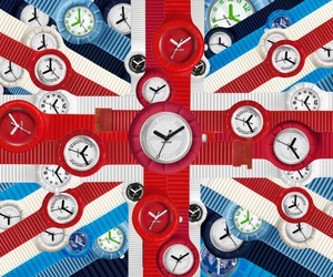 clock, london, and uk image