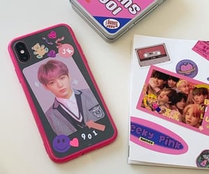 aesthetic, kpop, and stickers image