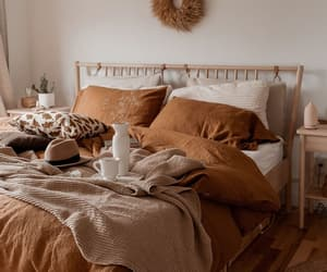 autumn, bedroom, and cozy image