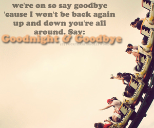 jonas brothers, Roller Coaster, and goodnight and goodbye image