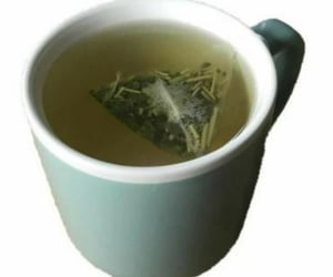aesthetic, tea, and green image