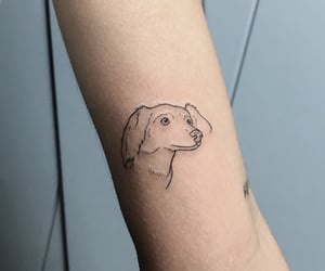 dogs, Tattoos, and dog tattoo image