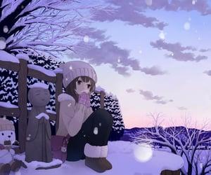 anime, christmas, and december image