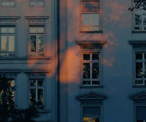 building, sunset, and aesthetic image