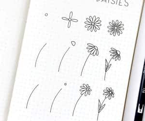 doodles, bullet journal, and bullet journal ideas image