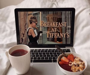 morning, audrey hepburn, and Breakfast at Tiffany's image