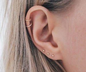 earrings and piercing image