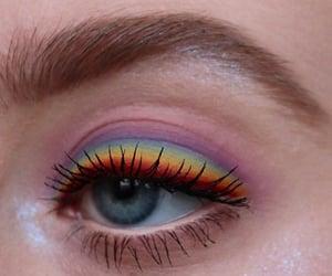 makeup and rainbow image
