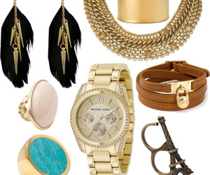 accesories, earrings, and eiffel tower image