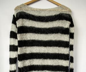 extra long sleeves, boho punk clothing, and slouchy mohair top image