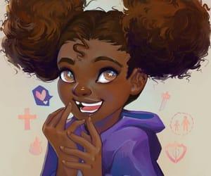 black girl, Desenhos, and power black image