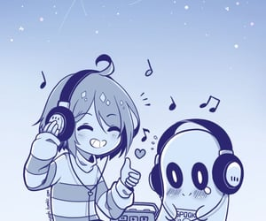 undertale, napstablook, and frisk image