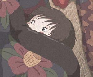anime, grainy, and homescreen image