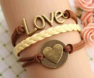 bracelet, cute, and girl image