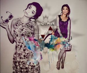 art, sarah hyland, and edit image